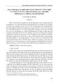 Đặc tính quang hợp, khả năng tích lũy chất khô và năng suất của một số giống lạc (Arachis hypogaea. l) trồng tại Thanh Hóa