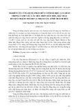 Nghiên cứu ứng dụng phân hữu cơ sinh học 1- 3- 1 hc15 trong canh tác cây mía trên đất dốc, bạc màu huyện Thạch Thành và Thọ Xuân, tỉnh Thanh Hóa