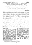 Đánh giá thực trạng đào tạo theo tín chỉ ở nước ta nói chung và ở trường Đại học Bà Rịa – Vũng Tàu nói riêng