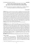 Về đồ án quy hoạch chi tiết tỉ lệ 1/2000 khu trung tâm Thành phố Hồ Chí Minh 930HA