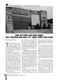 Bàn về tiêu chí xếp hạng các trường đại học từ thực tiễn Việt Nam