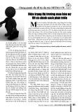 Hiện trạng thị trường mua bán nơ VN và chính sách phát triển