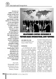 Relationship - Control mechanism in Viet Nam - based international joint vetured