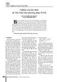 Nghiên cứu lạm phát Việt Nam theo phương pháp SVAR