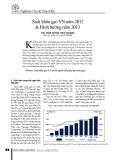 Xuất khẩu gạo VN năm 2012 & Định hướng năm 2013