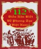 112 điều nên biết về phong tục việt nam: phần 2 - nxb văn hóa dân tộc