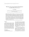 Phân tích in Silico họ gen Glutamate dehydrogenase ở cây đậu tương