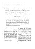 Xác định đồng thời 05 anthocyanidin trong một số loại rau, củ, quả bằng phương pháp sắc ký lỏng - khối phổ (lc/ms/ms)