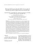 Đánh giá mối liên quan giữa phơi nhiễm Asen của phụ nữ trong độ tuổi sinh đẻ và bệnh lý thai sản tại tỉnh Hà Nam