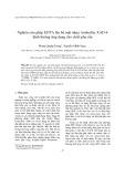 Nghiên cứu ghép EDTA lên bề mặt nhựa Amberlite XAD-4 định hướng ứng dụng cho chiết pha rắn