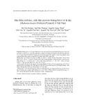 Đặc điểm sinh học, sinh thái của loài Hoàng liên ô rô lá dày (Mahonia bealei (Fortune) Pynaert) ở Việt Nam