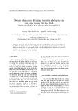 Điều tra nhu cầu và khả năng tìm kiếm phòng trọ của sinh viên trường Đại học Vinh