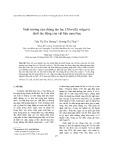 Sinh trưởng của chủng tảo lục Chlorella vulgaris dưới tác động của vật liệu nano bạc