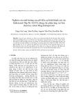 Nghiên cứu ảnh hưởng của pH đến sự hình thành xúc tác hidrotanxit Mg-Ni-Al-CO3 dùng cho phản ứng oxi hóa chọn lọc stiren bằng hidroperoxit