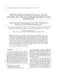 Phân tích nhóm hợp chất peflo hóa trong các loại mẫu môi trường: nước, trầm tích, cá bằng phương pháp sắc ký lỏng khối phổ hai lần