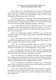 Ngân hàng câu hỏi viết thi công chức 2014 chuyên ngành: Chăn nuôi - Thú y