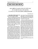 Quan điểm của Đảng Cộng sản Việt Nam về vấn đề tôn giáo, tín ngưỡng và công tác tôn giáo trong thời kì đổi mới