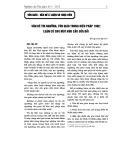 Vấn đề tín ngưỡng, tôn giáo trong Hiến pháp 1992: Luận cứ cho một nhu cầu sửa đổi