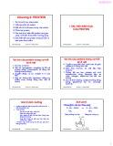 Bài giảng Hóa sinh thực phẩm: Chương 2 - ThS. Phạm Hồng Hiếu (2017)