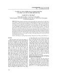 Vai trò của yếu tố điều hòa CIS trong đáp ứng của thực vật với các điều kiện bất lợi