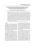 Khả năng tạo chất hoạt hóa bề mặt sinh học và phân hủy dầu thô của chủng nấm men 1214 bk14 phân lập từ giếng khai thác dầu ở mỏ Bạch Hổ, Vũng Tàu
