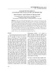 Quan hệ tiến hóa phân tử của giun đũa chó Toxocara canis thu tại tỉnh Phú Thọ
