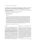 Xác định cấu trúc và đặc điểm gen học hệ gen ty thể của sán lá ruột nhỏ haplorchis taichui, mẫu Việt Nam