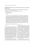 Tổng hợp và biểu hiện gen caf1 mã hóa kháng nguyên f1 của vi khuẩn Yersinia pestis