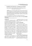 Taxonomy of the genus paris l. (Melanthiaceae) in VietNam