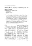 Nghiên cứu hiệu ứng sinh học của Oligochitosan chế tạo bằng phương pháp chiếu xạ γ-CO-60 trên tảo Spirulina platensis