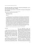 Sinh tổng hợp lipid của mười chủng Thraustochytrid phân lập từ rừng ngập mặn Xuân Thủy, Nam Định