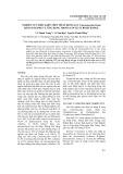 Nghiên cứu điều kiện thủy phân rong lục Chaetomorpha linum bằng enzyme và ứng dụng trong sản xuất bioethanol