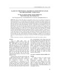Xạ khuẩn Streptomyces chartreusis CP23X9 sinh xylanase: đặc điểm sinh học và phân loại
