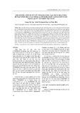 Ảnh hưởng một số yếu tố tới khả năng tạo chất hoạt hóa bề mặt sinh học của chủng Acinetobacter calcoaceticus h3 phân lập từ ven biển Việt Nam