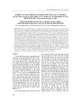 Nghiên cứu quá trình tách chiết lipit tổng số và axít béo tự do cho sản xuất dầu omega 3 và omega 6 từ sinh khối vi tảo biển dị dưỡng Schizochytrium mangrovei PQ6