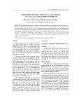 Thành phần hóa học tinh dầu lá cam chanh - Citrus sinensis (L.) Osbeck trồng ở Nghệ An