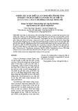 Nghiên cứu tách chiết và xác định một số hoạt tính sinh học của dịch chiết flavonoid từ cây diếp cá thu hái tại Hà Nội