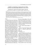 Nghiên cứu ảnh hưởng của điều kiện tách chiết đến hàm lượng mogroside thu được từ quả La hán