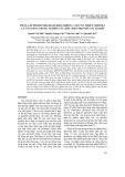 Phân lập promoter (đoạn điều khiển) cảm ứng nhiệt athsp18.2 và ứng dụng trong nghiên cứu biểu hiện protein tái tổ hợp