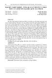 Đạo đức nghề nghiệp – Tổng quan lý thuyết và nhận thức của sinh viên đại học Quốc gia Tp. HCM
