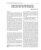Phân tích thể loại văn bản và các chiến lược viết thư tín thương mại