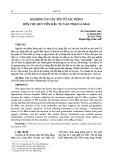 Nghiên cứu các yếu tố tác động đến thu hút vốn đầu tư vào tỉnh Cà Mau