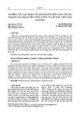 Nghiên cứu các nhân tố ảnh hưởng đến lòng trung thành của nhân viên Tổng công ty lắp máy Việt Nam (Lilama)
