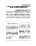 Sử dụng đa chất gây nghiện ở nam bán dâm đồng giới: áp dụng phương pháp phân tích lớp ẩn