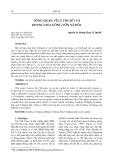Tổng quan về lý thuyết và khung đo lường vốn xã hội