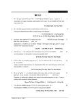 Mục lục bài viết Tạp chí nghiên cứu Y học