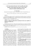 Các giải pháp để thúc đẩy chuỗi liên kết trong xuất khẩu rau quả tươi Vùng Kinh tế Trọng điểm Phía Nam