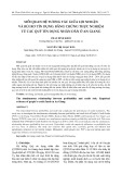 Mối quan hệ tương tác giữa lợi nhuận và rủi ro tín dụng: bằng chứng thực nghiệm từ các quỹ tín dụng nhân dân ở An Giang