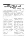 Nghiên cứu áp dụng bộ câu hỏi SF - 36 trong đánh giá chất lượng cuộc sống bệnh nhân viêm khớp dạng thấp