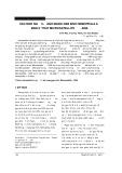 Xác định người lành mang gen bệnh hemophilia A bằng kỹ thuật Microsatellite dna